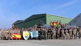 Los Eurofighter en Lituania alcanzan las 300 horas de misión