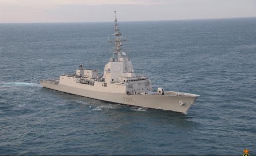 La fragata Blas de Lezo, de maniobras en Noruega con la OTAN