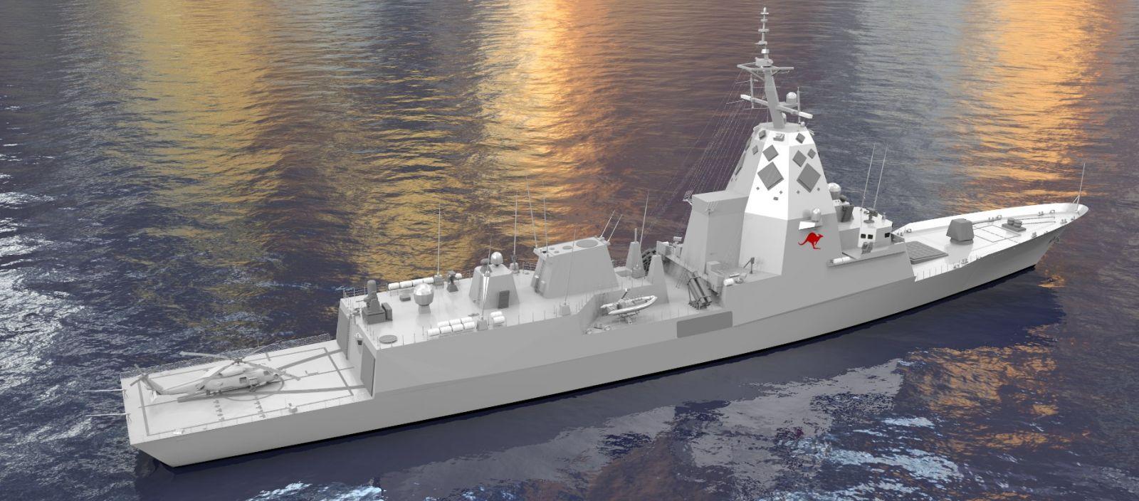 Trabajo boob de la Marina australiana