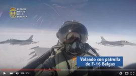 Vídeo: el Eurofighter español con los F-16 belgas en Lituania