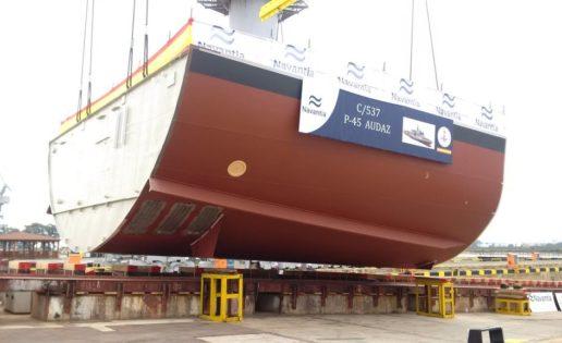 Navantia pone las quillas del 5º y 6º BAM para la Armada Española