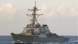 Obama visitará el destructor USS Ross en la base de Rota