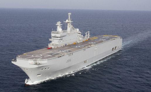 «Dixmude»: a bordo de la clase Mistral de la Marine Nationale