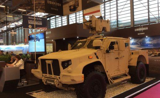 Eurosatory (II): Oshkosh, el contrato que cambiará la automoción militar