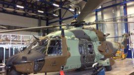 Las Famet recibirán sus primeros helicópteros NH90 en septiembre