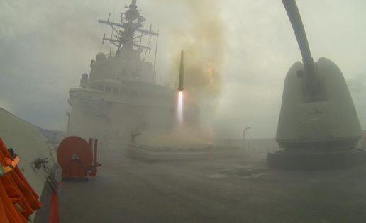 La fragata Cristóbal Colón certifica en EE.UU. su sistema de combate