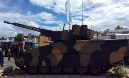 La Bolsa de Defensa: la alemana Rheinmetall sube un 13,21%