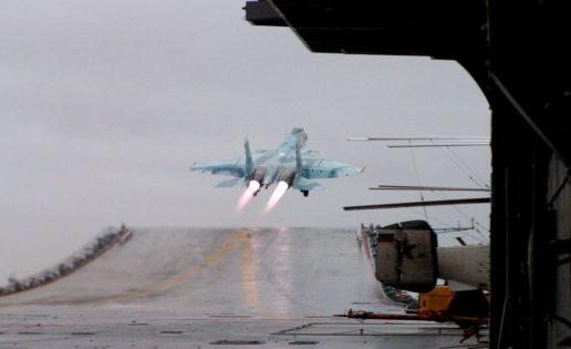 Segundo accidente de un caza ruso del portaaviones Almirante Kuznetsov