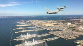 6 horas y media a 900 km/h: así cruzaron el Atlántico los Eurofighter del Ejército del Aire