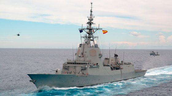La fragata «Almirante Juan de Borbón», de maniobras en el mar Negro con la OTAN y EE.UU.