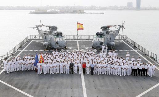 El buque «Galicia» asume el mando de la Operación Atalanta de la UE