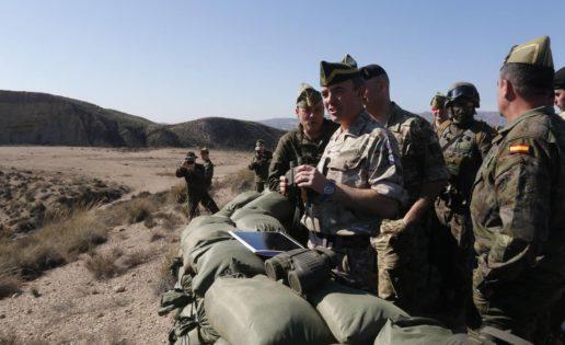 La Legión, a las órdenes de un general británico en unas maniobras de la OTAN en Rumanía