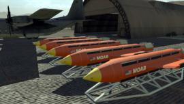 Vídeo: así arrojó EE.UU. la «madre de todas las bombas» en un ensayo militar