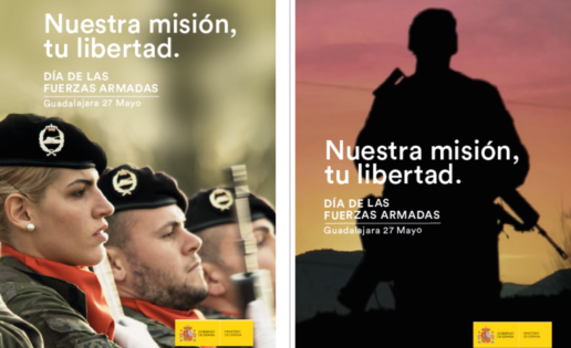 Defensa recupera el desfile en el Día de las Fuerzas Armadas