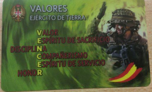 El Ejército de Tierra lanza una campaña para reconocer sus valores