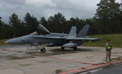 España ofrece a la OTAN participar en la Policía Aérea del Báltico hasta 2020
