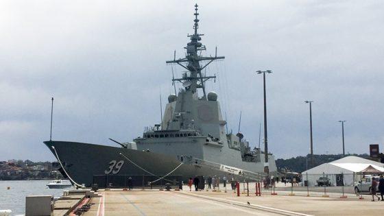 El primer buque de Navantia construido en el extranjero: un destructor para Australia