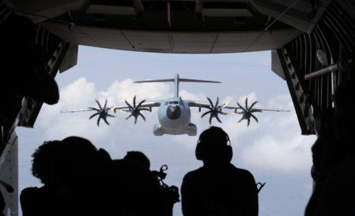 El A400M del Ejército del Aire se estrenará en una misión exterior en Estonia