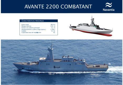 España y Arabia Saudí refuerzan su cooperación militar Navantia-468x324