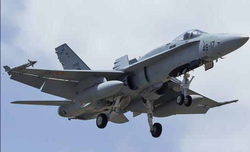 El nuevo Eurofighter (Tranche 3), «solución más probable» para renovar el F-18 del Ejército del Aire