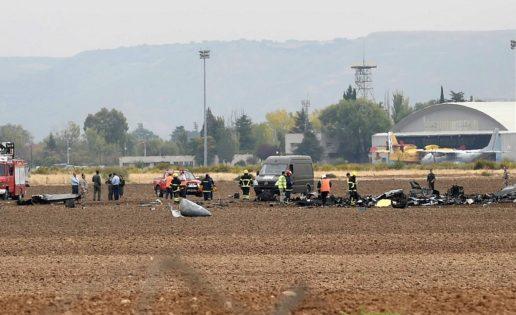 De 26 años y nacido en Murcia: el piloto fallecido al estrellarse el F-18 en Torrejón