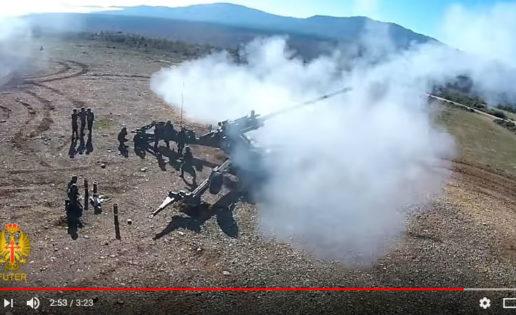 Vídeo: el Ejército muestra el funcionamiento de su obús 155
