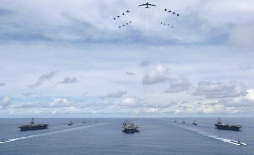 Vídeo: EE.UU. exhibe músculo ante Pyongyang con tres portaaviones juntos en el Pacífico
