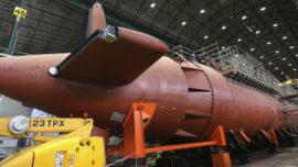 Submarino S-80: el techo de gasto aumentará 1.770 millones