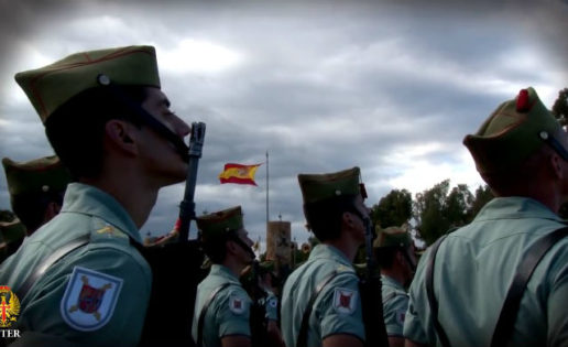 Vídeo: el Ejército prepara ya el centenario de La Legión en 2020