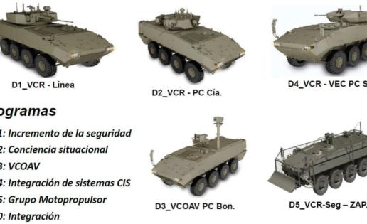 El futuro 8×8 del Ejército: tecnología de España, EE.UU., Israel, Francia e Italia