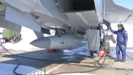 """Vídeo: el lanzamiento del nuevo misil ruso """"Kinzhal"""""""