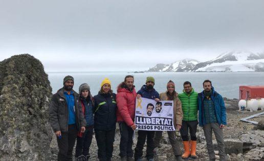 Provocación independentista en la base militar española de la Antártida