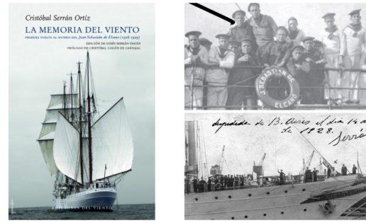 Libro: «La memoria del viento» o la primera vuelta al mundo de «Elcano»