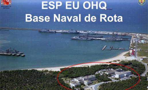 Oficial: Rota albergará la base de la Operación Atalanta