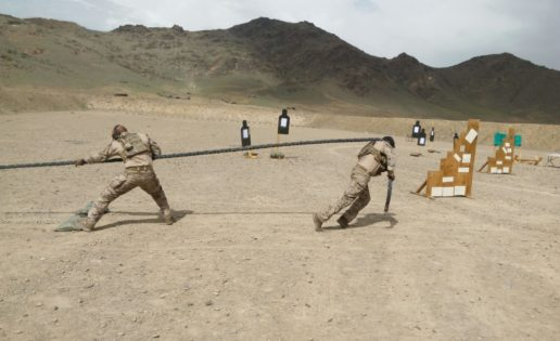 """Los """"boinas verdes"""" del Mando de Operaciones Especiales despliegan en Afganistán"""