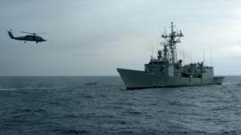 Mar Negro (IV): Vídeos de la fragata «Victoria» en acción con la OTAN