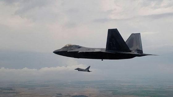 F-22: el caza más letal de EE.UU. junto a Eurofighter y F-18 españoles
