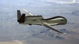 El mayor avión no tripulado de EE.UU. se estrelló en aguas próximas a Cádiz