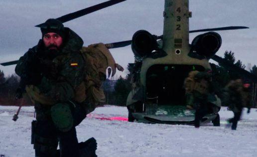 Noruega (IV): vídeo del desembarco aerotransportado de españoles cerca del Ártico