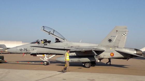 Los F-18 del Ejército del Aire, rumbo al Ártico noruego con la OTAN