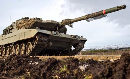 """Noruega (V): Los carros Leopardo del Ejército contra """"marines"""" en Oppdal"""