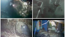 Vídeo: imágenes submarinas de la fragata noruega Helge Ingstad