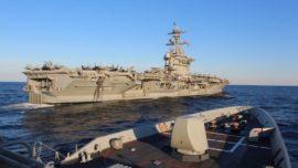La misión sigilosa de España con el portaaviones Abraham Lincoln