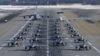 Alaska (I): EE.UU. exhibe poderío aéreo con 24 cazas F-22