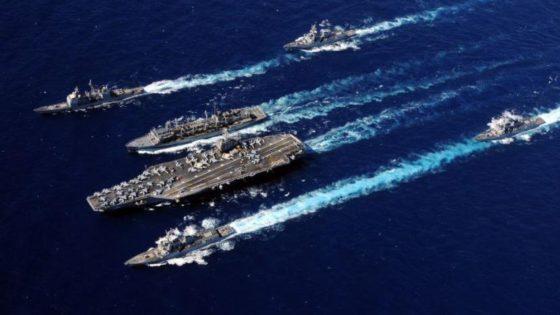 La fragata Méndez Núñez inicia su despliegue con el portaaviones Abraham Lincoln
