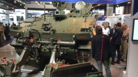 GDELS-SBS y el Ejército exhiben el nuevo Pizarro en versión zapadores
