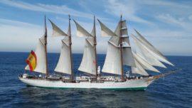 Las claves para poder visitar el buque Elcano en Guetaria y Guecho del 6 al 9 de julio