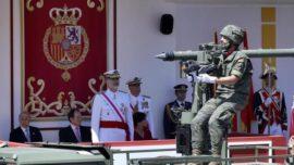 El Rey, ante las Fuerzas Armadas: «Por España: lo que más nos une»