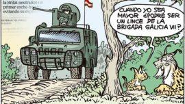 Exposición del humorista gráfico de ABC «JM Nieto» en Valladolid