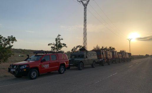 La UME acude a Cataluña para ayudar a sofocar el incendio de Tarragona